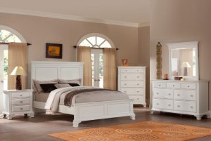 white bedroom set