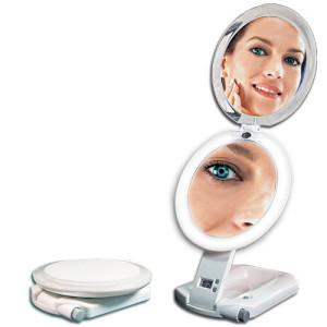 vanity mirror double